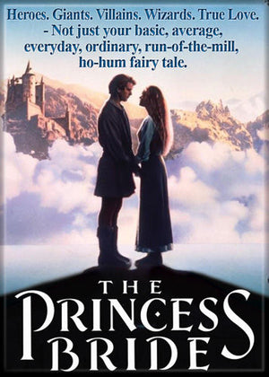 The Princess Bride Movie Poster Magnet