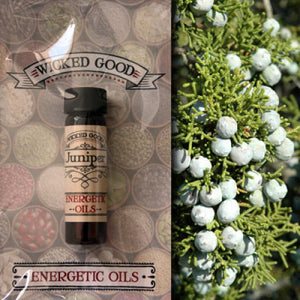 Juniper ~ Wicked Good Energetic Oil (2 Dram; 7 ml)