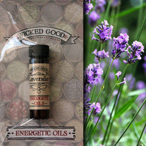 Lavender ~ Wicked Good Energetic Oil (2 Dram; 7 ml)
