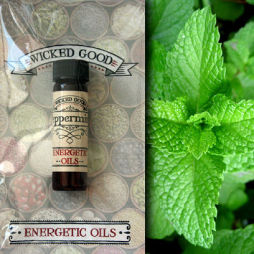 Peppermint ~ Wicked Good Energetic Oil (2 Dram; 7 ml)