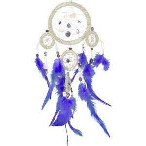 Quartz Beads White Dreamcatcher