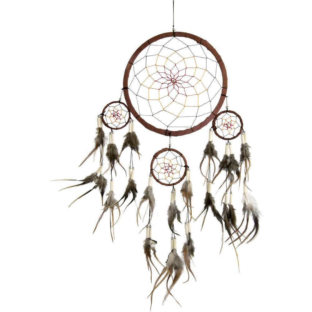Forest Spirit Ivory Beads Dreamcatcher