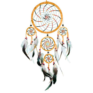Spiral Beaded Dreamcatcher