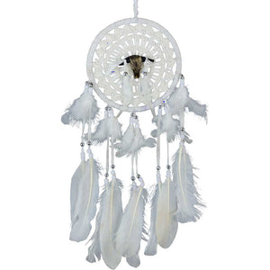 Buffalo Spirit Woven Dreamcatcher