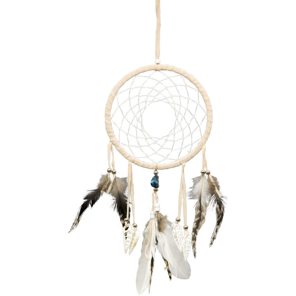 Natural with Shells Dreamcatcher