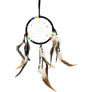 Black Chakras Dreamcatcher
