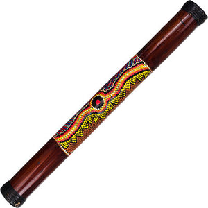 Brown Painted Large Rainstick