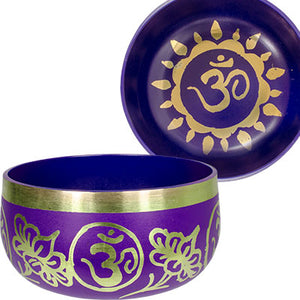 Chakra Singing Bowl ~ Purple (Crown)