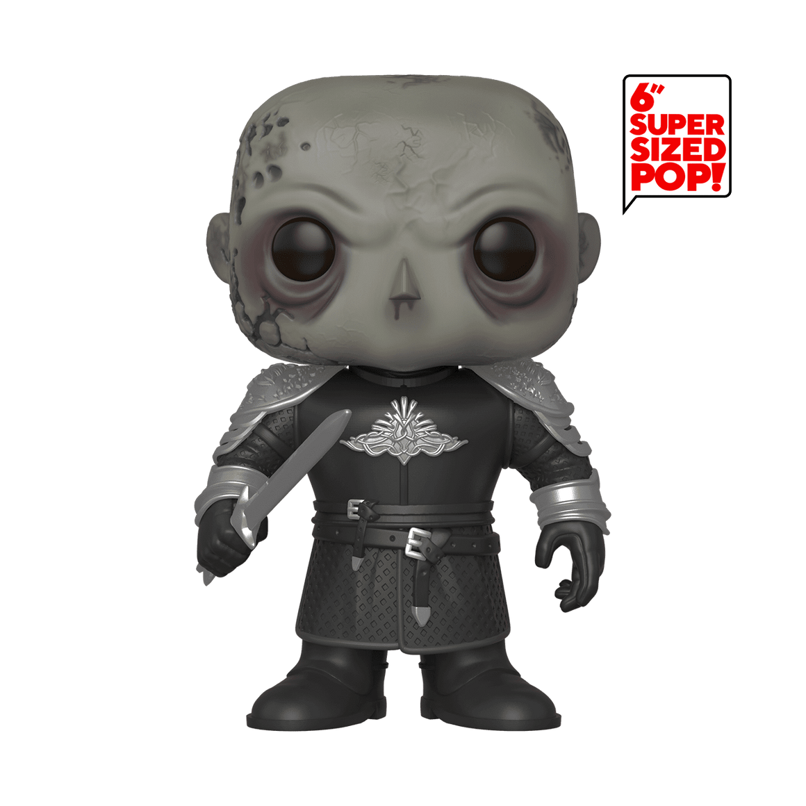 "Funko Pop Vinyl Figurine The Mountain Unmasked 6"" - Game of Thrones"