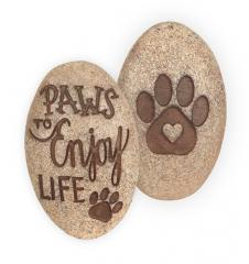Paws to Enjoy Life ~ Pawsitive Stone