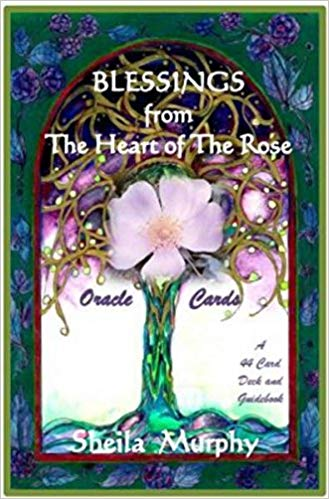 Blessings from the Heart of the Rose Oracle Cards (44-card deck & guidebook)