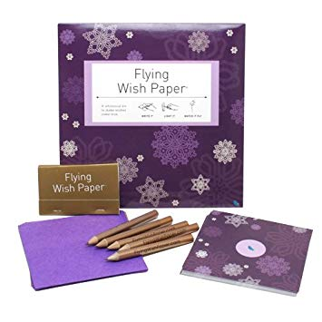 Champagne Dreams Large Flying Wish Paper Kit