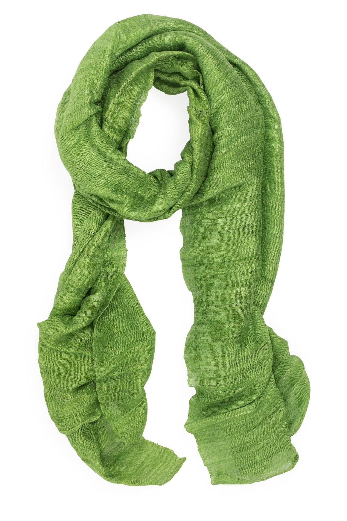 Green Valleys Silk Scarf