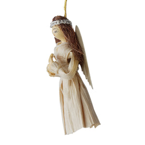 Lovely Lady Angel Ornament Handcrafted in Nepal