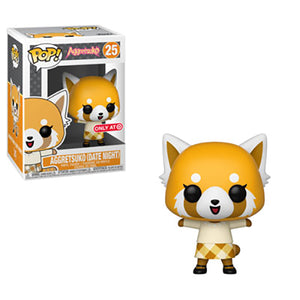 Funko Pop Vinyl Figurine Target Exclusive Aggretsuko (Date Night) #25