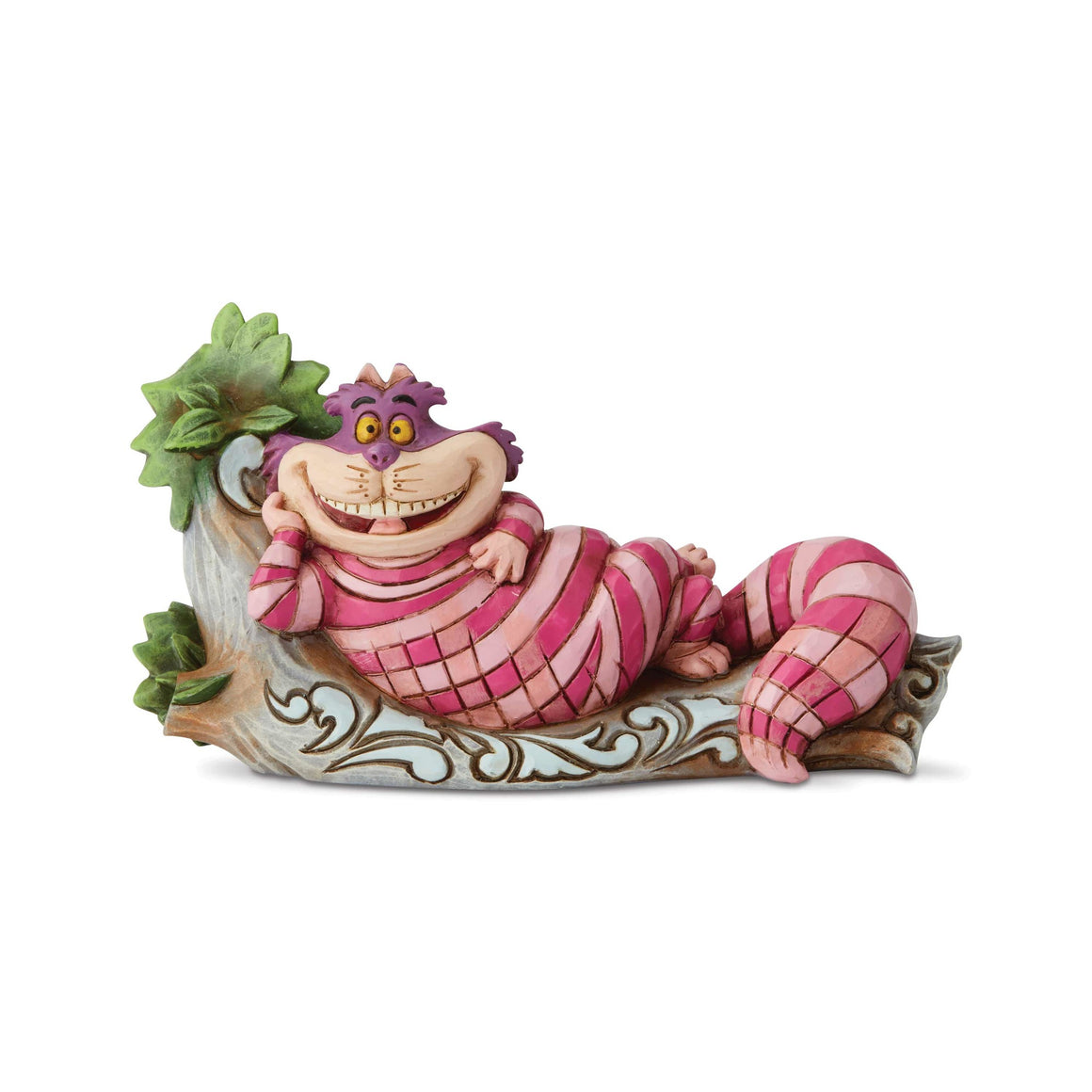 Cheshire Cat on Tree by Jim Shore Disney Traditions