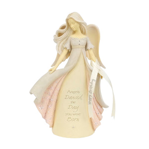 Birthday Angel Figurine from the Foundations Collection