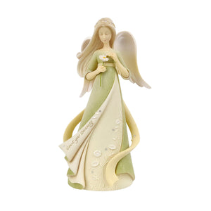 Count Your Blessings Angel Figurine from the Foundations Collection