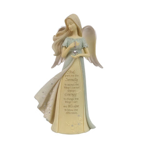 Serenity Prayer Angel Figurine from the Foundations Collection