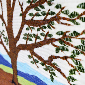 Branching Life Wall Hanging Handcrafted in Peru