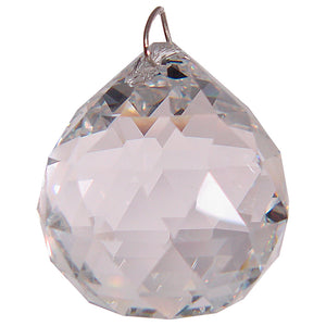 Prism Crystal 20 mm Faceted Sphere CL