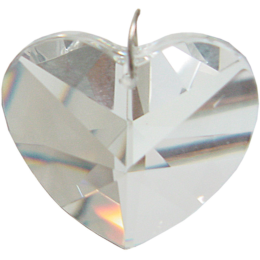 Prism Crystal 40 mm Heart CL