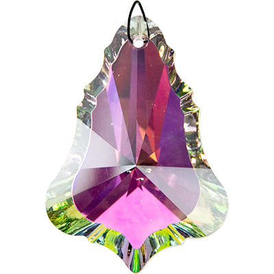 Mystic Bell Crystal Prism (50 mm) Aurora Borealis Finish