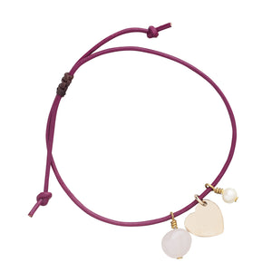 Rose Quartz Love & Harmony Bracelet Handcrafted in Colombia
