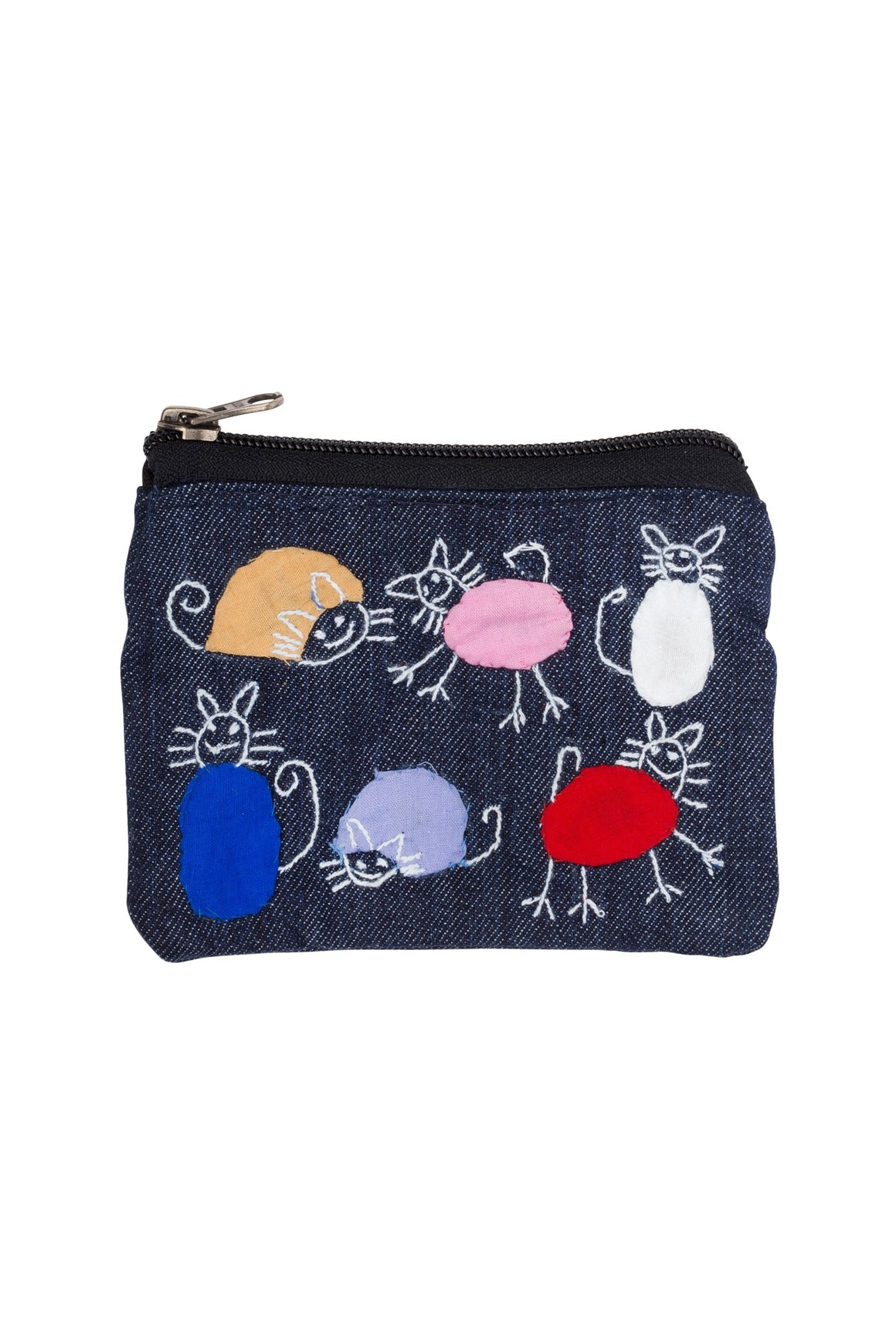 Colorful Cats Coin Purse