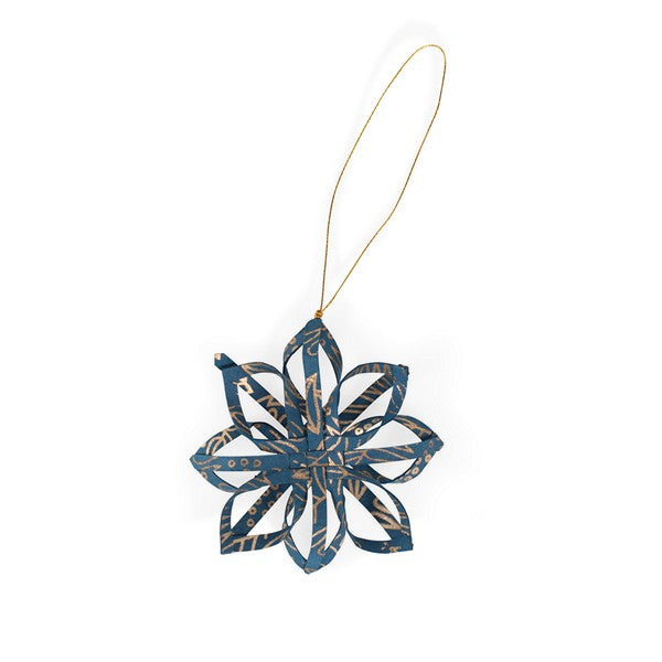 Touch of Gold Star Quilled Paper Ornament
