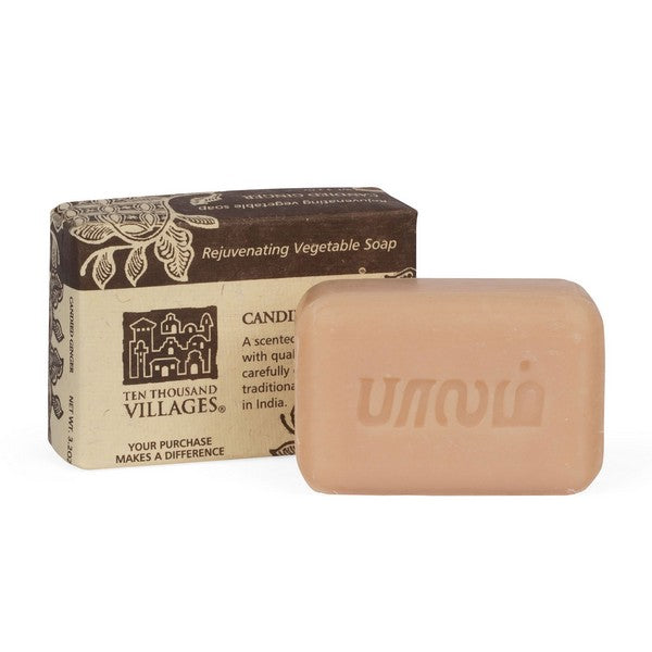 Candied Ginger Handmade Soap ~ Global Artisan (Global Fair Trade)