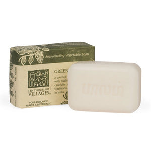 Green Tea Handmade Soap ~ Global Artisan (Global Fair Trade)