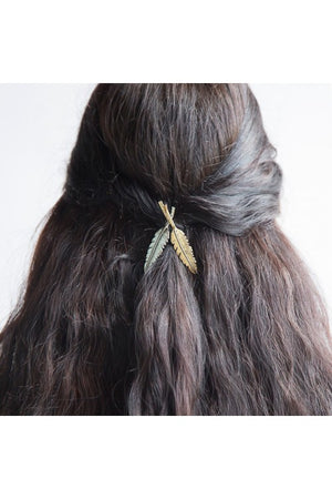 Feather Folklore Hair Clips Handcrafted in India