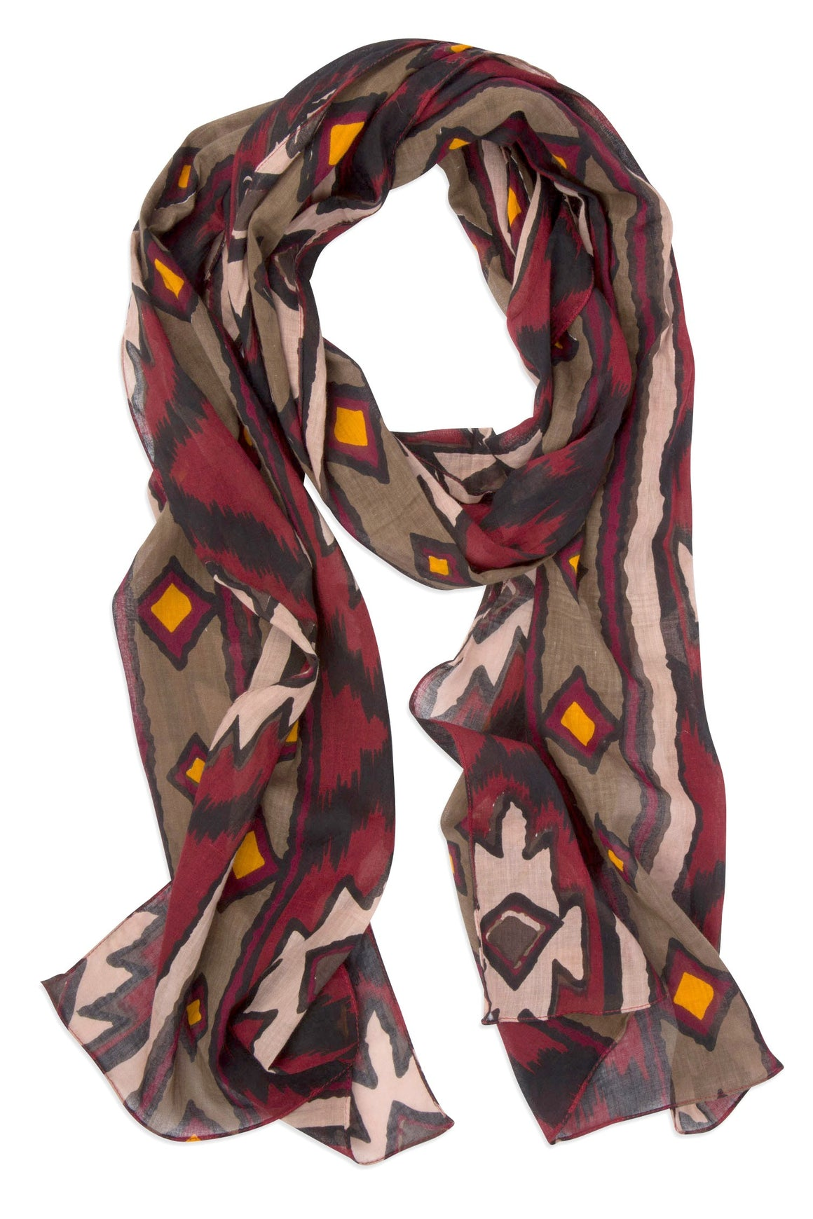 Tribal Tales Cotton Scarf
