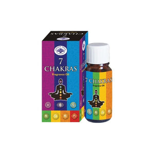 7 Chakras Fragrance Oil ~ Green Tree Fragrance Oil (10 ml)