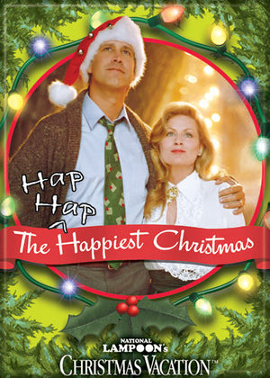 The Hap Hap Happiest Christmas National Lampoon's Christmas Vacation Magnet