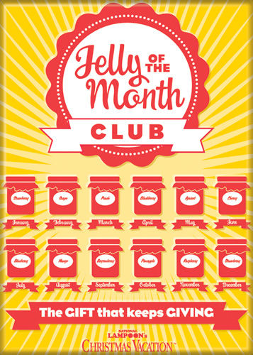 jelly of the month club national lampoons christmas vacation magnet - Jelly Of The Month Club Christmas Vacation