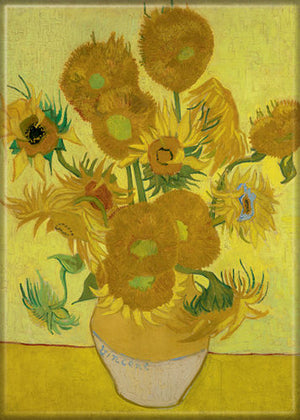 Vincent Van Gogh Sunflowers magnet