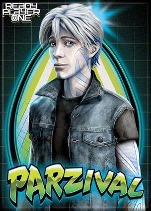 Ready Player One Parzival magnet