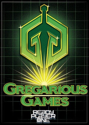 Ready Player One Gregarious Games magnet