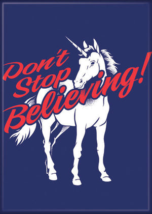 Unicorn Don't Stop Believing magnet