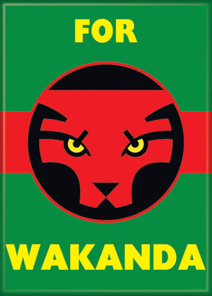 For Wakanda Black Panther movie Magnet