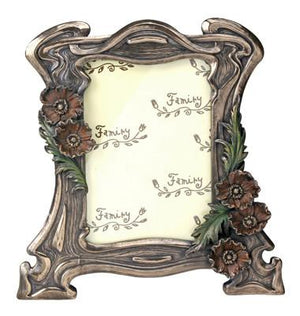 Art Nouveau Poppy Photo Frame