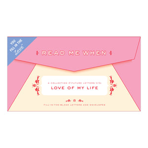 Letters to the Love of My Life ~ Read Me When Box