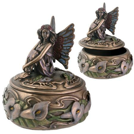 Fairy with Calla Lilies Box