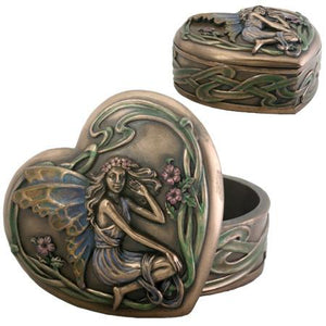 Art Nouveau Fairy Heart Box
