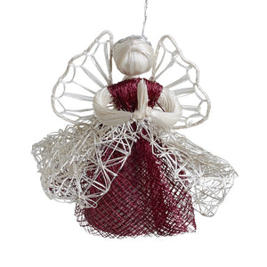 Good News Angel Ornament Handcrafted in Philippines