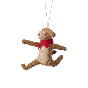Running Dog Ornament Handcrafted in Philippines