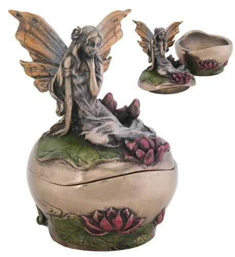 Fairy with Lotus Blooms Box