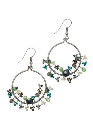 Gravity Earrings Handcrafted in Guatemala